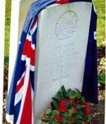 Garnet's gravestone, Armentières, France