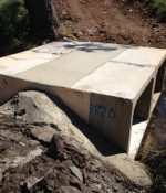 Concrete work complete